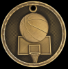 3-D Basketball Medal Basketball Trophy Awards
