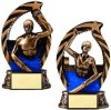Bronze and Gold Swim Bronze and Gold Star Resin Trophy Awards