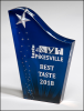 Freestanding Shooting Star Acrylic Colored Acrylic Awards