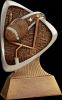 Triad Football Resin Football Trophy Awards