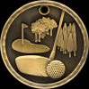 3-D Golf Medal Golf Trophy Awards