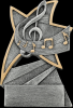 Music Jazz Star Resin Music Trophy Awards