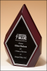 High Gloss Rosewood Diamonds Piano Finish Plaques