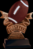 Ribbon Football Resin Ribbon Resin Trophy Awards