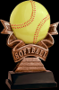 Ribbon Softball Resin Ribbon Resin Trophy Awards