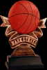 Ribbon Basketball Resin Ribbon Resin Trophy Awards