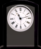 Black/Clear Square Arch Glass Clock Sales Awards