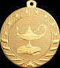 Starbrite Lamp of Knowledge Medal Scholastic Trophy Awards