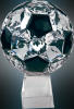 Crystal Soccer Ball on a Base Soccer Trophy Awards
