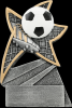 Soccer Jazz Star Resin Soccer Trophy Awards