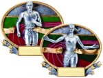 3D Oval Track 3D Oval Resin Trophy Awards