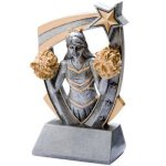 3D Resin Cheer 3D RST Series Resin Trophy Awards