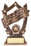 3D Sport Stars Music 3D Sport Stars Resin Trophy Awards