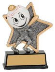 Baseball Little Pals Resin Trophy Baseball Awards