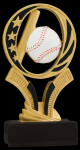 Midnight Star Baseball Resin Baseball Trophy Awards