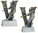 Baseball / Softball V Series Resin Baseball Trophy Awards