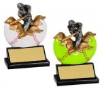 Baseball / Softball Xploding Resin  Baseball Trophy Awards