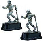 Baseball / Softball Figure With Bat Down Baseball Trophy Awards