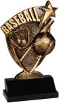 Baseball Broadcast Resin Baseball Trophy Awards