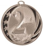 2nd Place MidNite Star Medal Baseball Trophy Awards