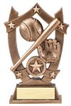 3D Sport Stars Baseball Baseball Trophy Awards