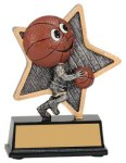 Basketball Little Pals Resin Trophy Basketball Awards