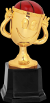 Happy Cup Basketball Trophy  Basketball Trophy Awards