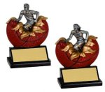 Basketball Xploding Resin  Basketball Trophy Awards