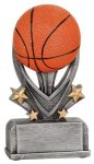 Basketball Varsity Sport Resin Basketball Trophy Awards