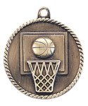 High Relief Basketball Medal Basketball Trophy Awards