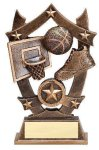 3D Sport Stars Basketball Basketball Trophy Awards