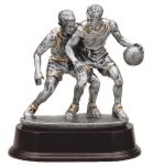 Basketball Double Action Basketball Trophy Awards