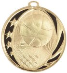 Basketball MidNite Star Medal Basketball Trophy Awards