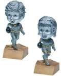 Bobblehead Resin, Bowling Bobble Head Resin Trophy Awards
