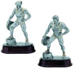 Weightlifter Resin Figure Body Building Trophy Awards