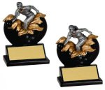 Bowling Xploding Resin Bowling Trophy Awards