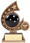 Resin Comet Series Bowling Bowling Trophy Awards