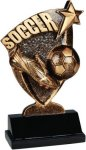 Soccer Broadcast Resin Broadcast Resin Trophy Awards