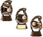 Golf Resin Trophy Bronze and Gold Star Resin Trophy Awards