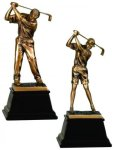 Bronze Golf Resin Award Bronze Golf Resins