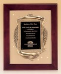 Rosewood Piano Finish Frame Plaque with Cast Relief Cast Relief Plaques