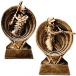 Baseball / Softball Resin Trophy Circle Backdrop Resin Trophies