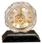 Crystal Clock Award Clock Crystal Awards