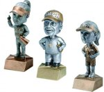 Bobblehead Resin, Coach & Team Mom Coach Trophy Awards