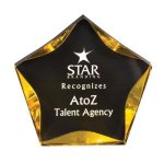 Luminary Star Acrylic Award Colored Acrylic Awards
