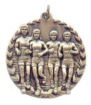 Millennium Cross Country Medal Cross Country Trophy Awards