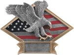 Eagle  Diamond Plate Resin  Eagle Trophy Awards