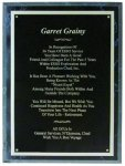 Black Marble Finish Plaques Economy Plaques