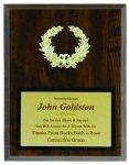 Plaque With Gold Wreath Economy Plaques
