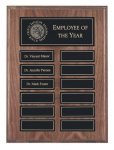 Recognition Pocket Perpetual Plaques Employee Awards